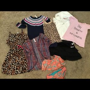 Girl lot size 5